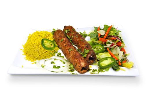 Kabob Korner Houston Beef Seekh Kabob
