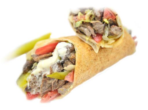 Kabob Korner Houston Beef Shawarma Sandwich