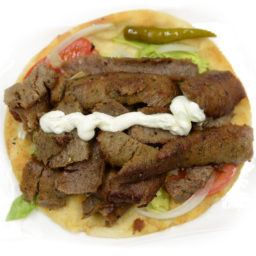 Kabob Korner Houston Gyro With Sauce