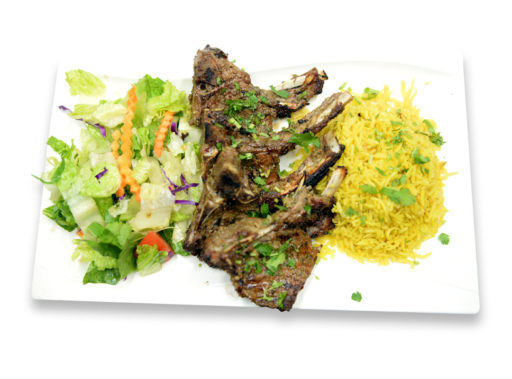 Kabob Korner Houston Lamb Chops