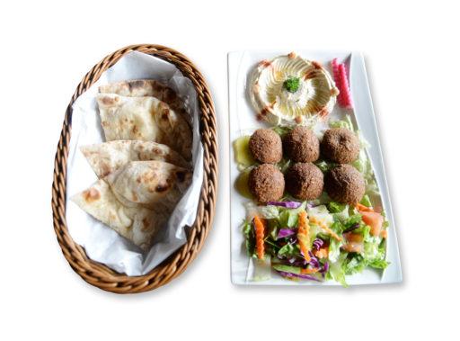 Kabob Korner Falafel Platter