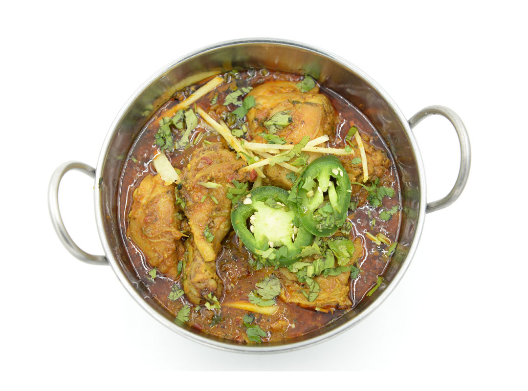 Chicken Karahi - Kabob Korner Restaurant - Houston, Texas