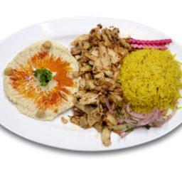 Kabob-Korner-Houston-Chicken-Shawarma-Platter