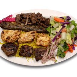 Kabob-Korner-Houston-Combination-Feast